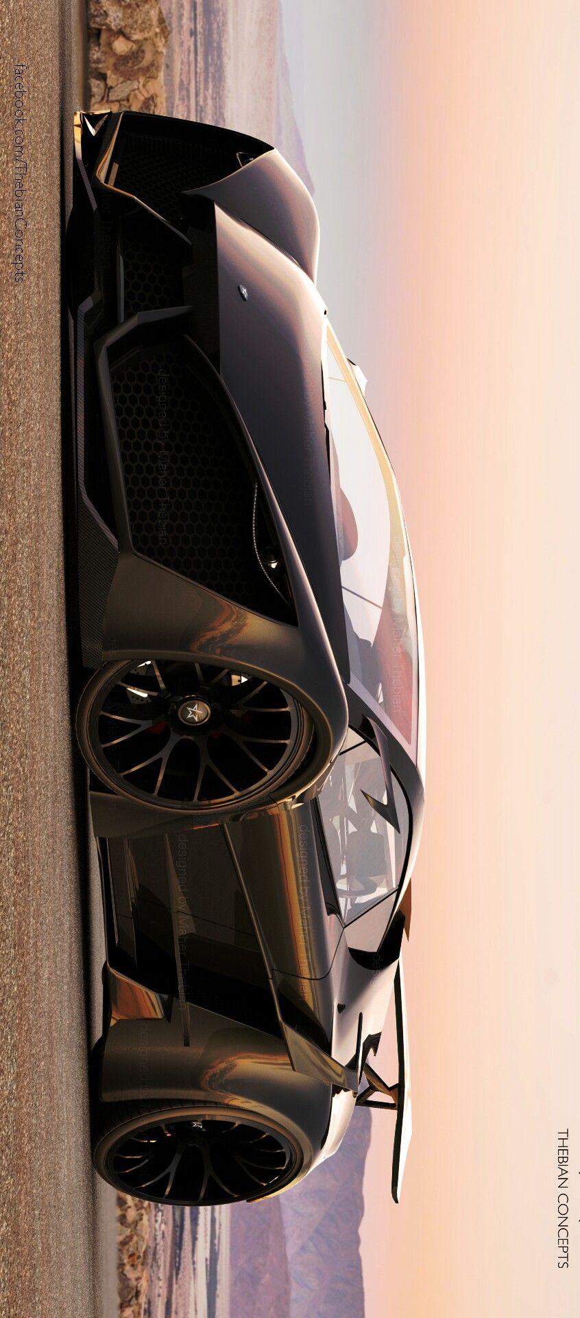 Superbe Lamborghini Sinistro Designed By Maher Thebian