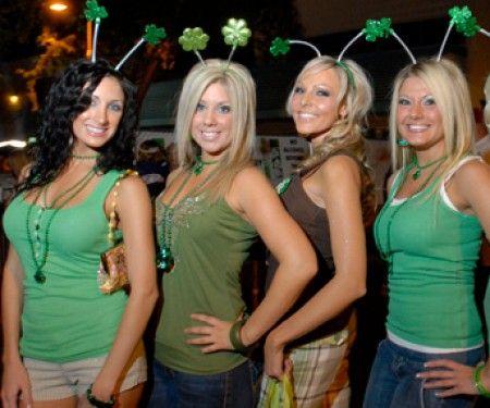 Irish girls in party