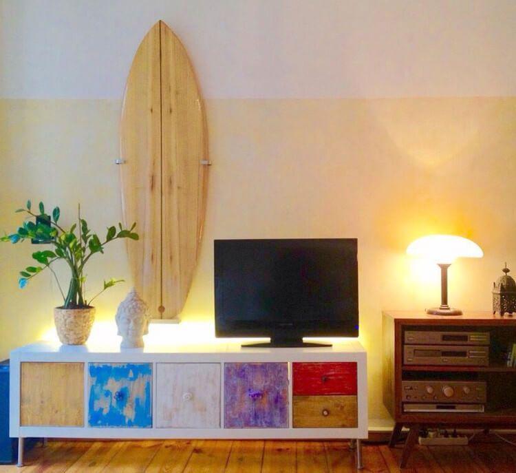 Schön Surfboard Wandhalterung Für 8,57 EUR Selber Bauen