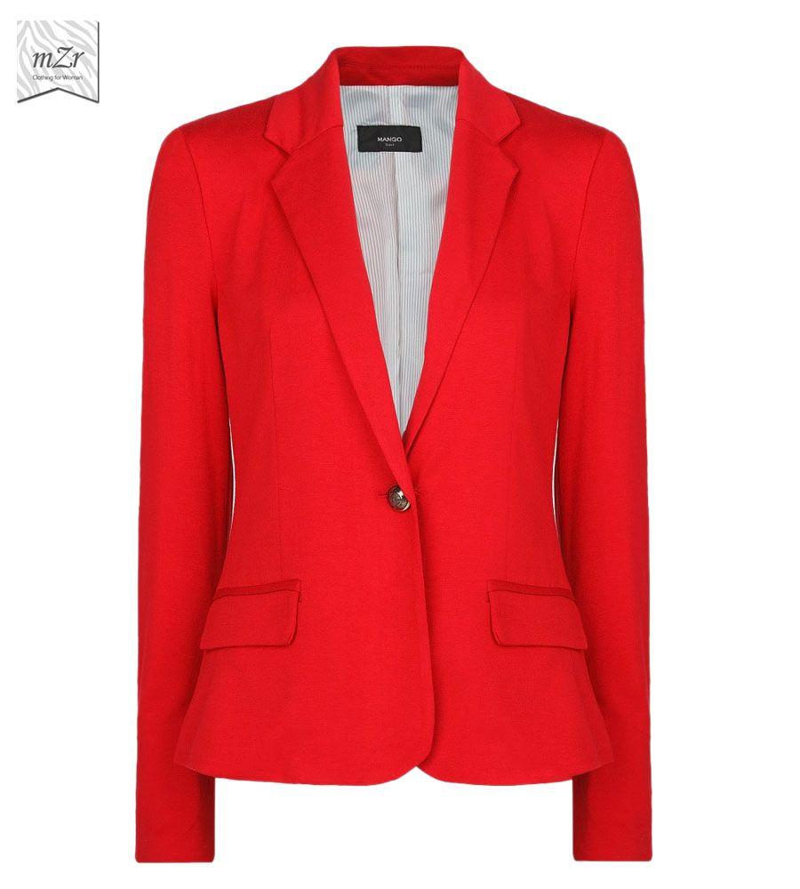 SACO ROJO   Casual Outfit   Pinterest   Saco rojo Sacos y Rojo