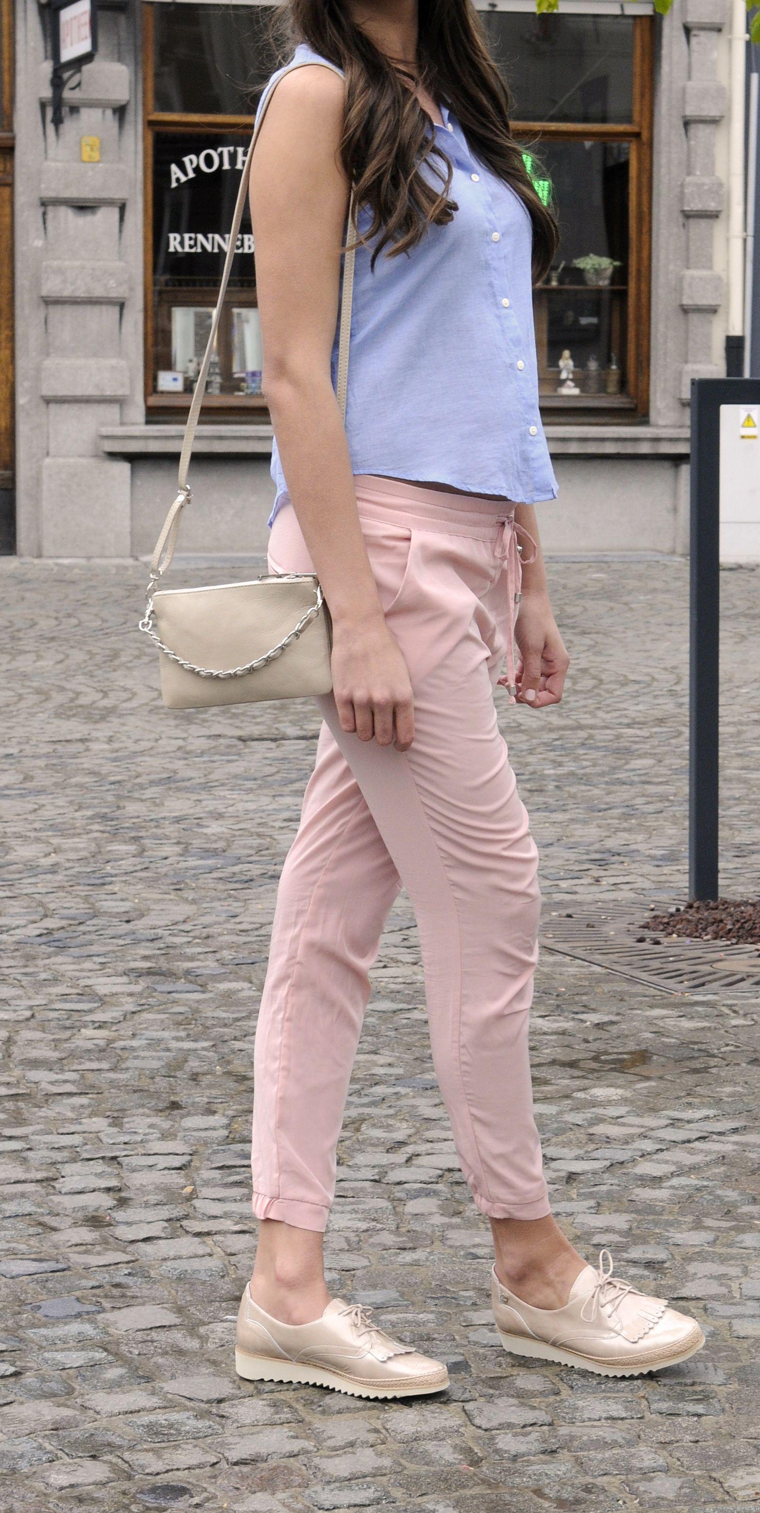 Cuir À Bleue Des Verni Rose Lacet Tenue Avec En No Chaussures 68TPTx