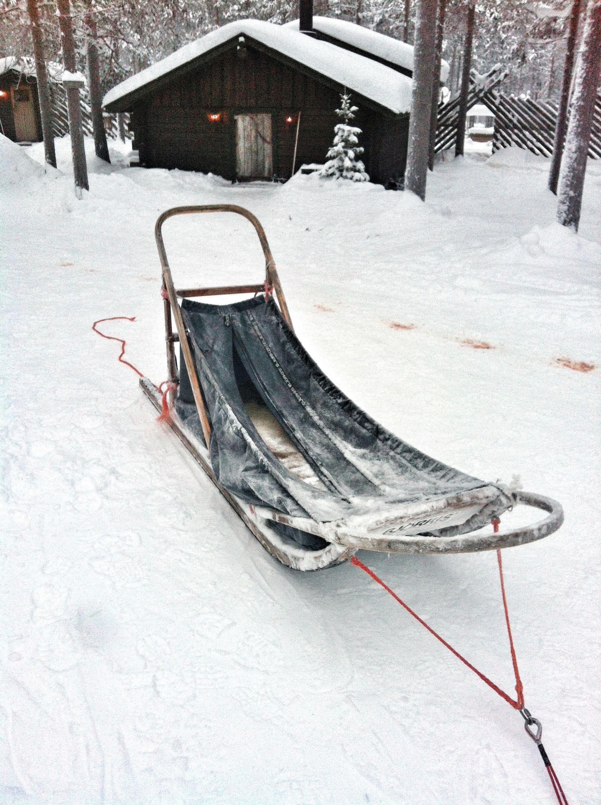 Husky sleigh Outdoor furniture, Outdoor, Outdoor decor