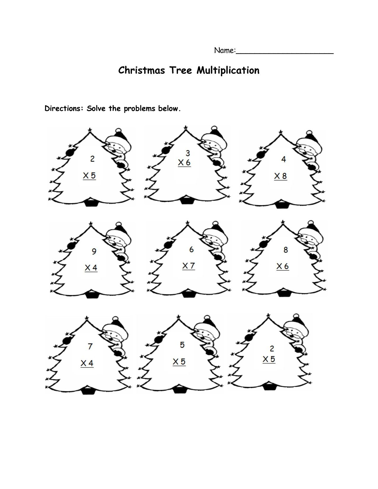 Christmas Coloring Sheets For Second Grade With Free