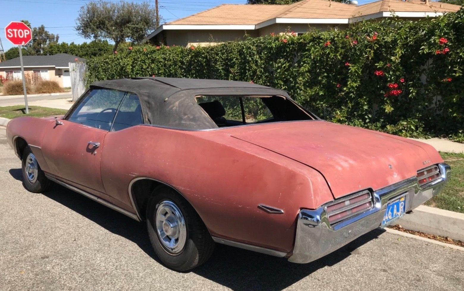 medium resolution of 1969 pontiac gto convertible
