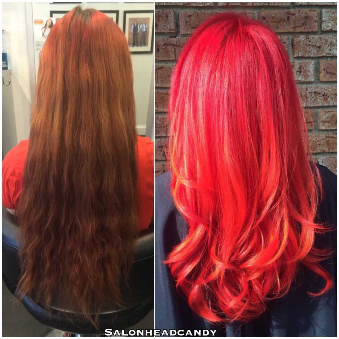 It S Transformationtuesday And Here S A Major One By The Talented Tina From Pink Bands Roots Old Highli Arctic Fox Hair Color Long Hair Styles Bright Hair