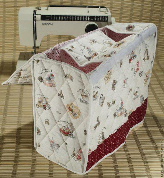 Como hacer una funda para maquina de coser05 costura for Como hacer patchwork