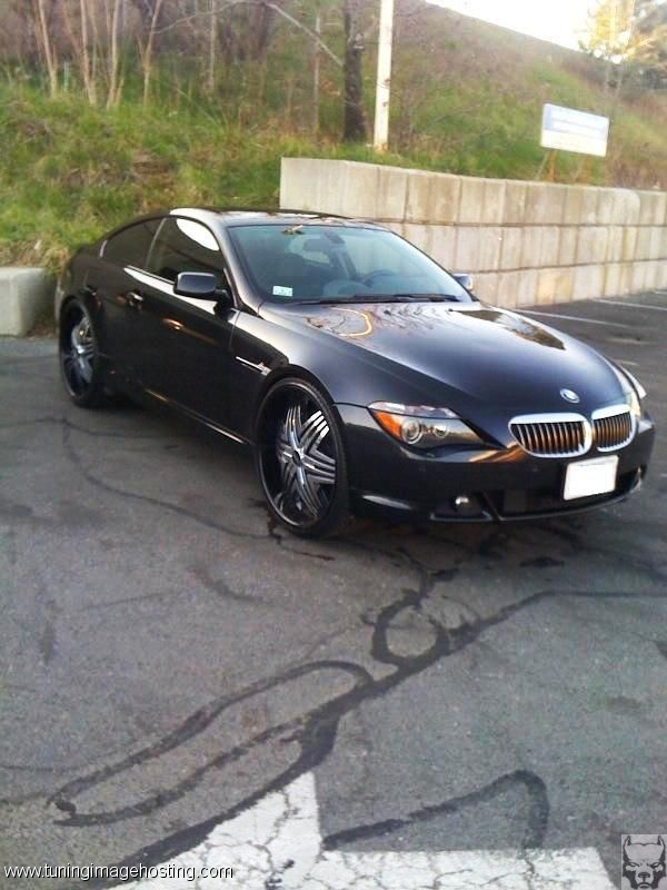 24 Inch Rims On Bmw 645 Find The Clic Of Your Dreams Www Allcarwheels