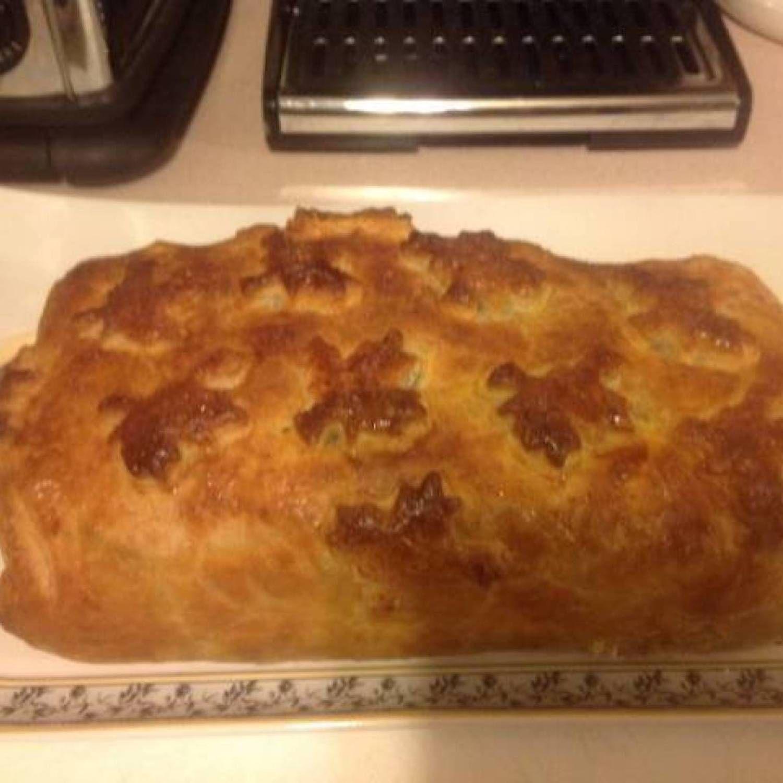 Meatloaf Peasant Wellington Recipe Meatloaf Wellington Recipes Food