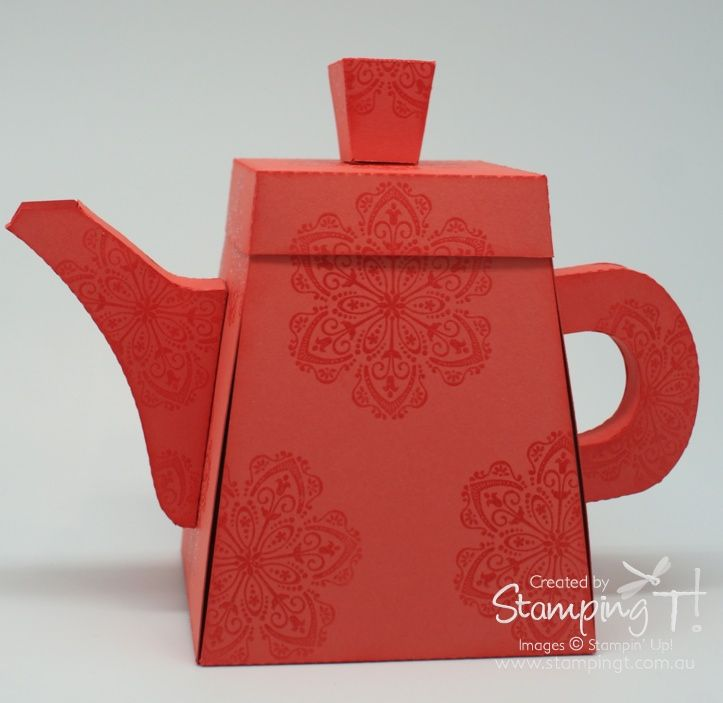 Stamping T! - Exploding Teapot