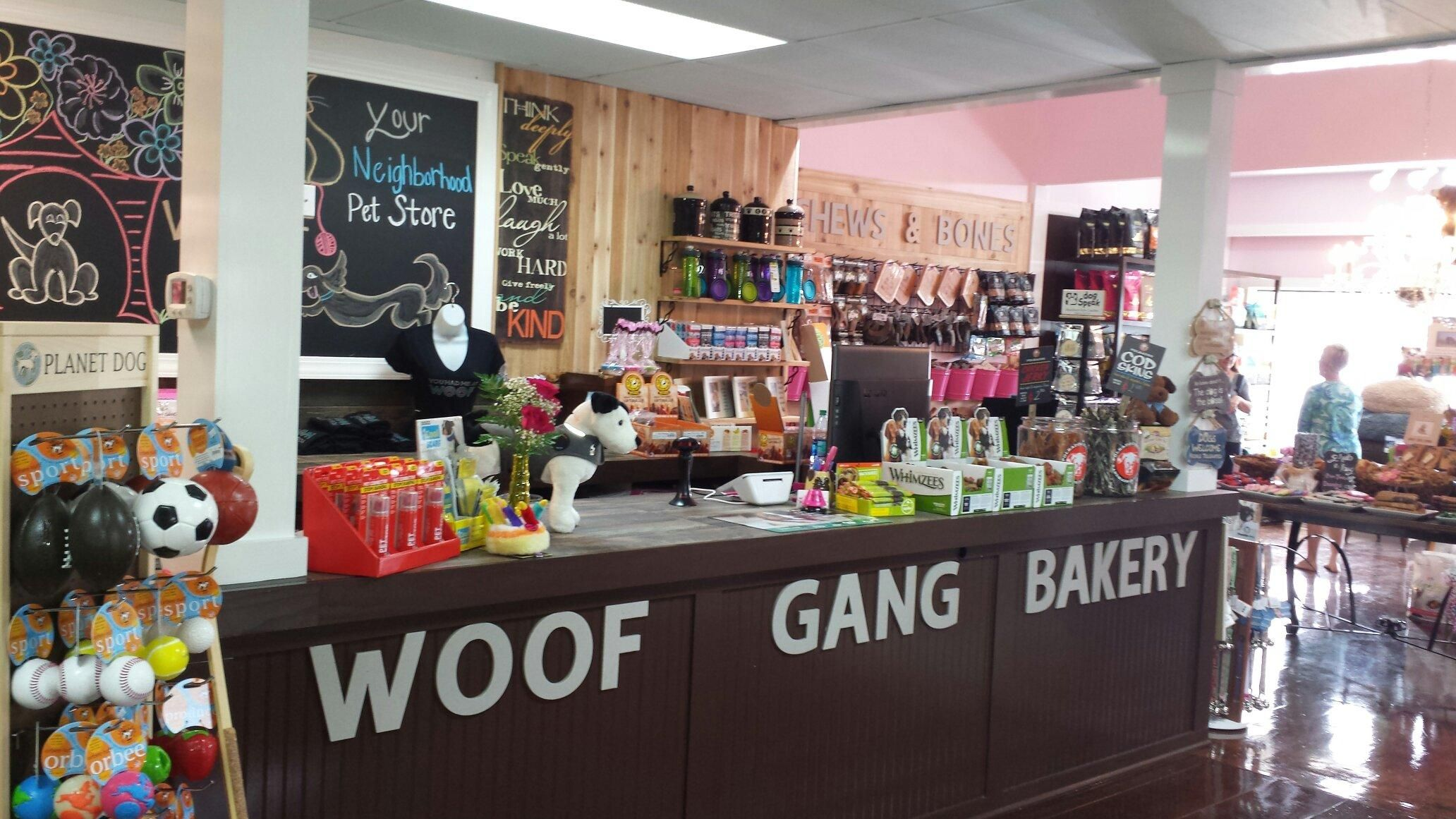 No work today stop by woof gang bakery mount pleasant and