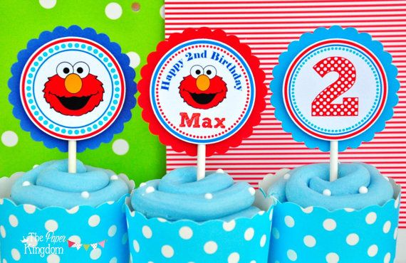 Greeting Cards Party Supply Elmo Sesame Street Party Cake
