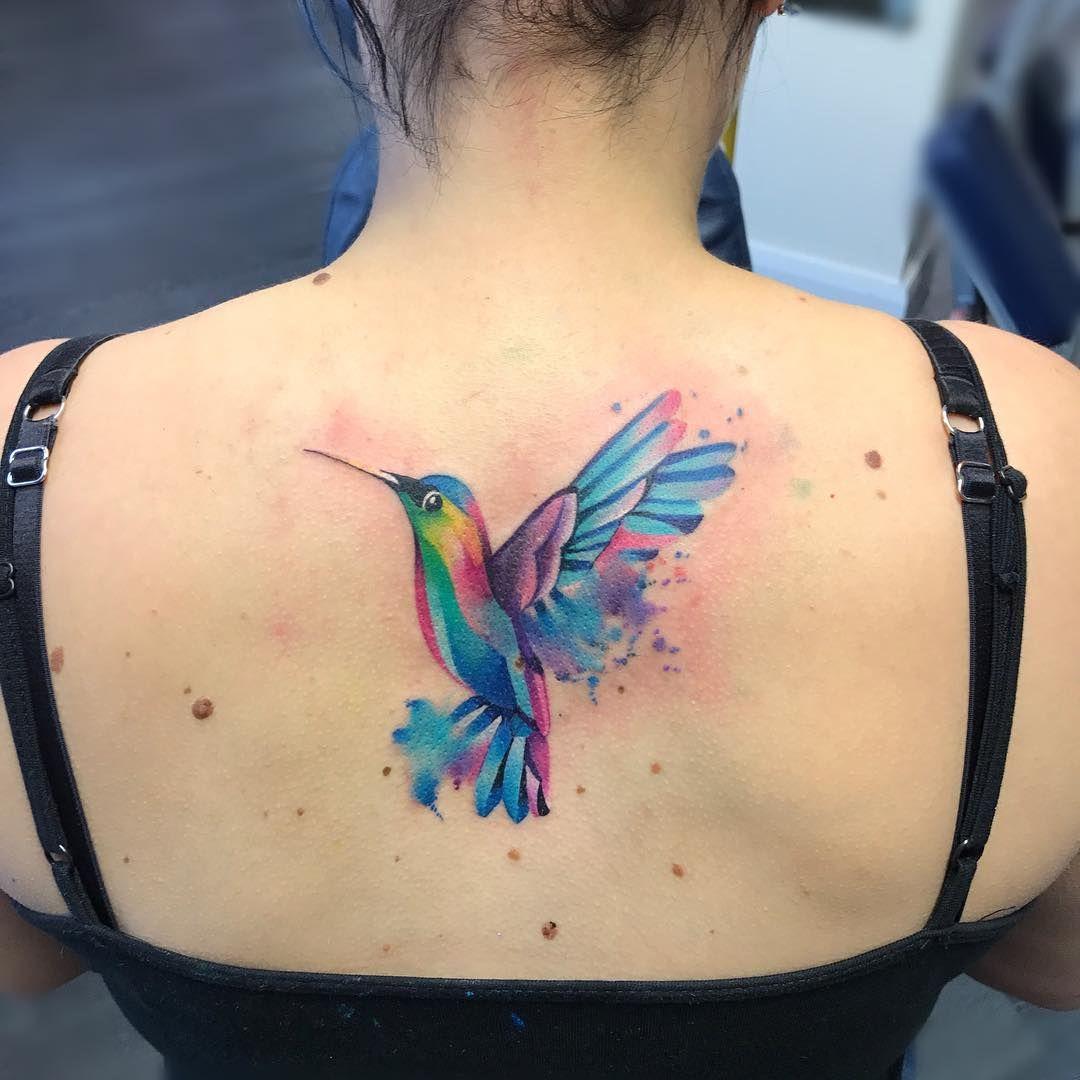 Colibri Full Color Tatuajes Tatuajes De Colibris Tatuajes