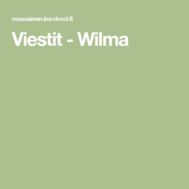 Viestit - Wilma