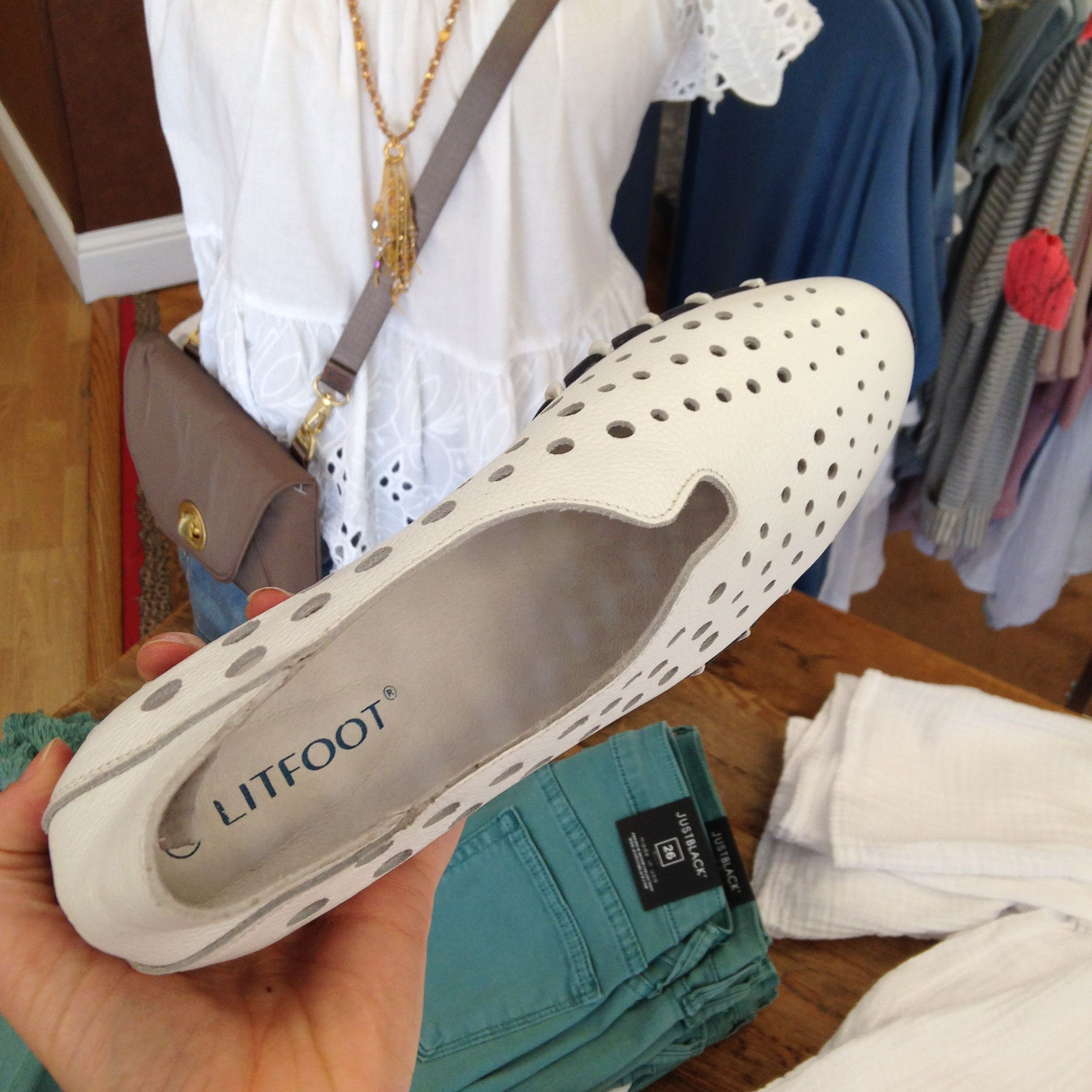 Best Travel shoes EVER! FREE SHIPPING!!! Litfoot perforated sneakers. Shop  online