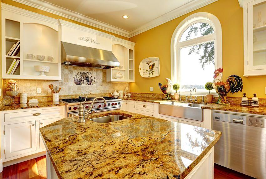 81 custom kitchen island ideas beautiful designs yellow kitchen interior latest kitchen on kitchen remodel yellow walls id=71459