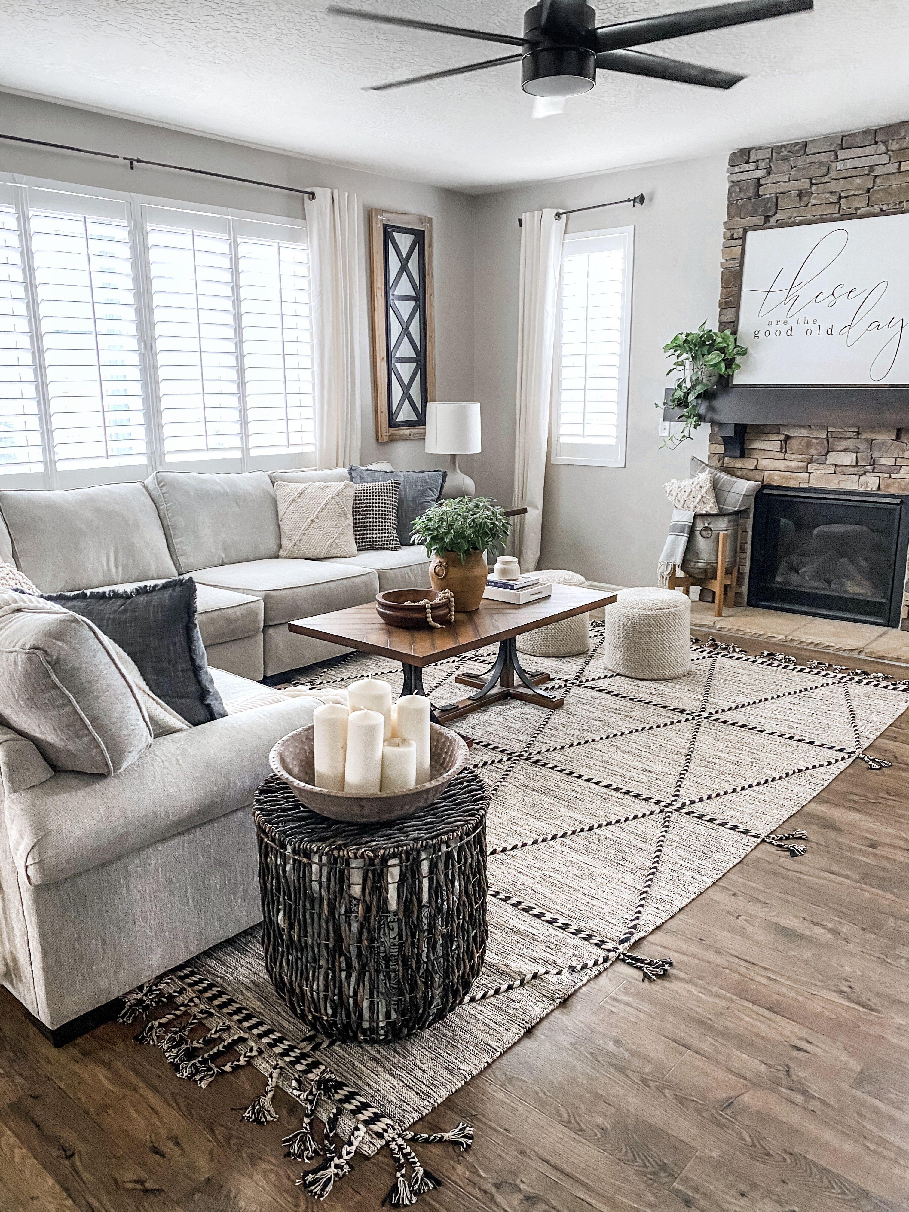 Living Room Ceiling Fan In 2020