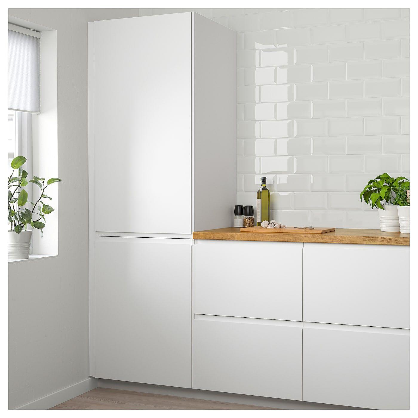 Voxtorp Deur Mat Wit Wit 40x100 Cm Ikea Keuken Renovatie Ikea Keuken Keuken Ontwerp