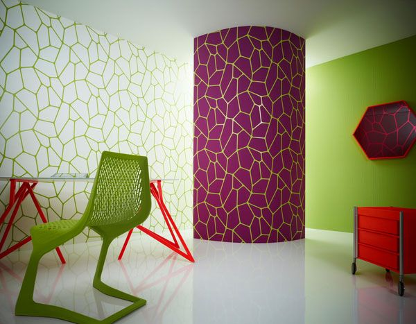 choosing what colours patterns materials and textures to put together to create an interior - Patterns In Interior Design
