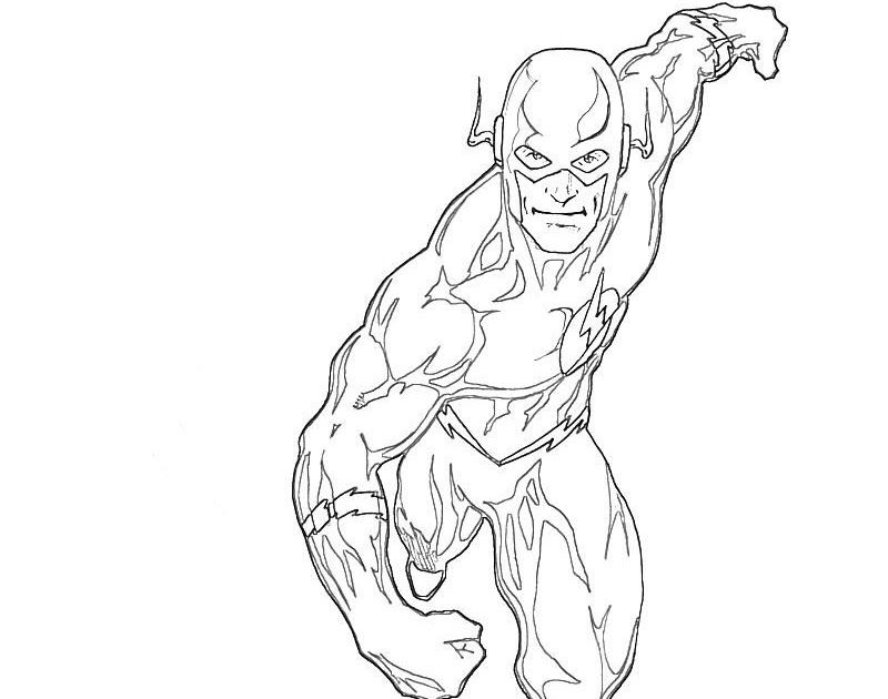 Super Hero Flash Colouring Pages Superhero Coloring Pages The Flash Coloring Pages Free Printable At Getdrawings Free Download F Di 2020 Drawings Drawing Spiderman