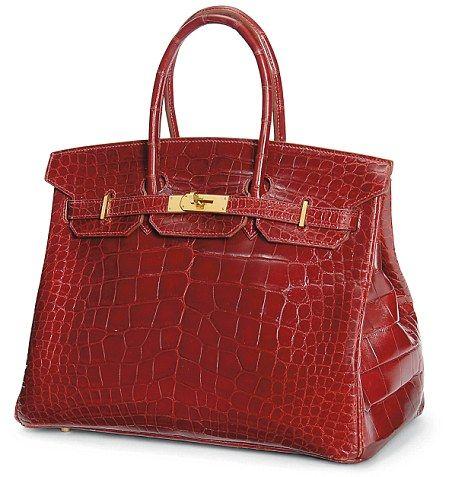 af42dd398ce8a Hermes Birkin Red Crocco | // bags // - Hermes birkin, Hermes kelly ...