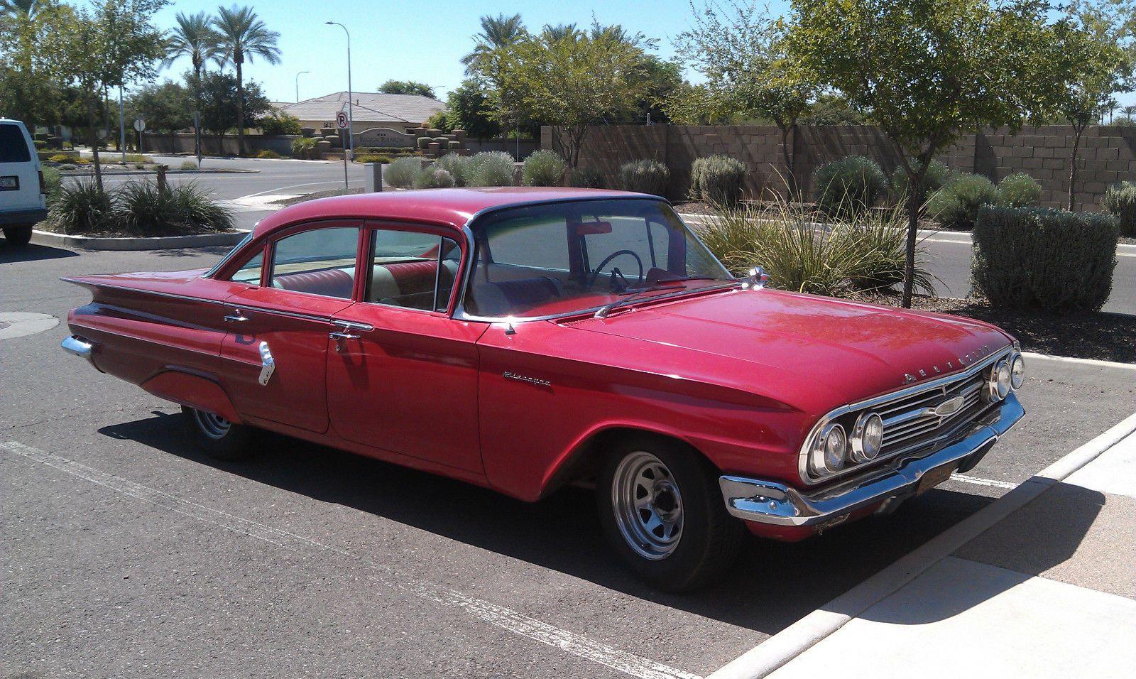 1960 Chevrolet Impala Base Hardtop 4 Door Chevrolet General