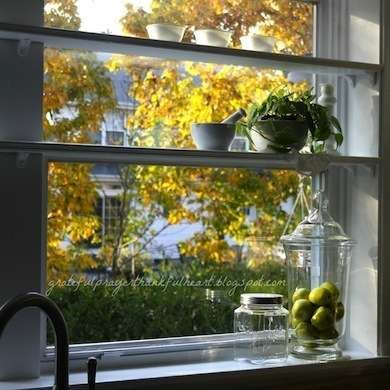Spreading Out: 14 Ways To Get More Counter Space. Kitchen Window  ShelvesKitchen ...