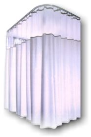 Lovely Shower Curtains, Draperies, Cubicle Curtains, Hospital Curtains, Kirsch,  Curtain Hardware