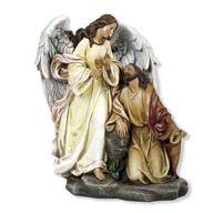 JESUS IN GETHSEMANE WITH COMFORTING ANGEL