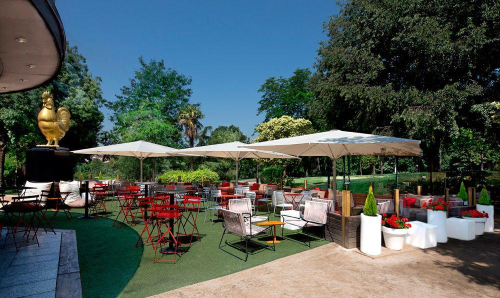 Jardín Del Café Bistrot Terrazas Madrid Terrazas