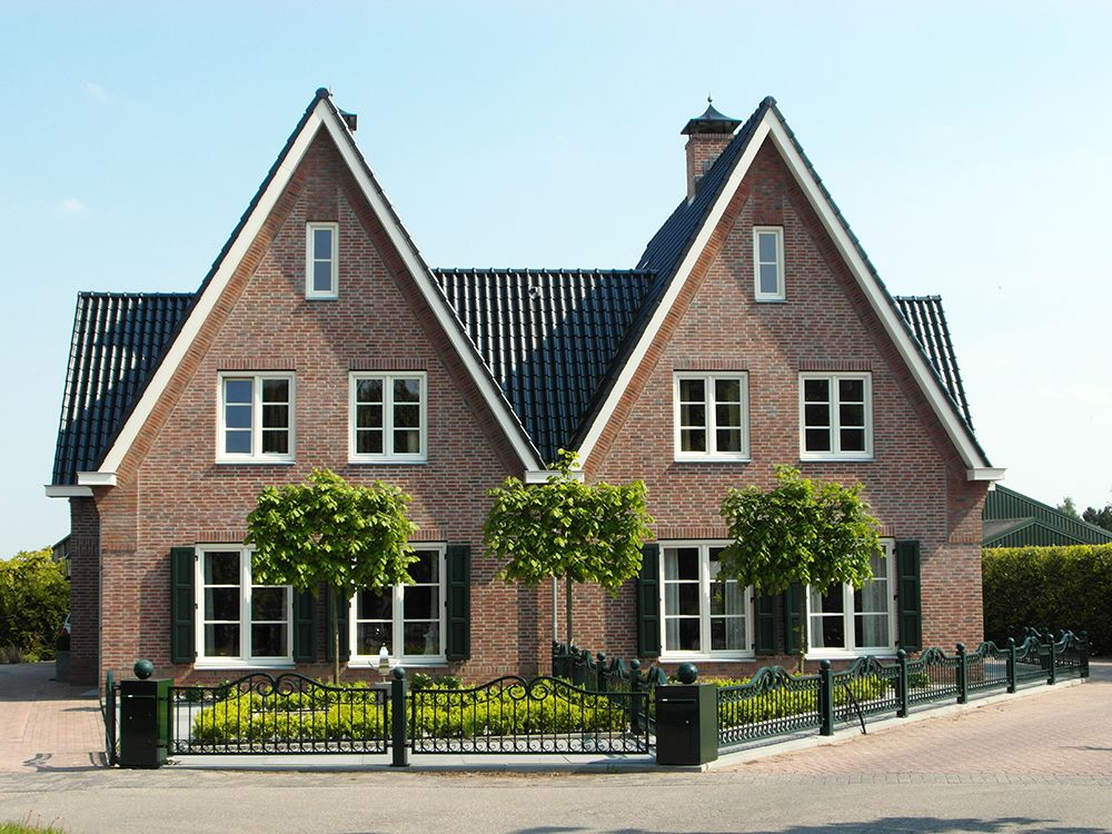 2onder1kap huizen pinterest huizen nieuwbouw en for Huizen jaren 30 stijl