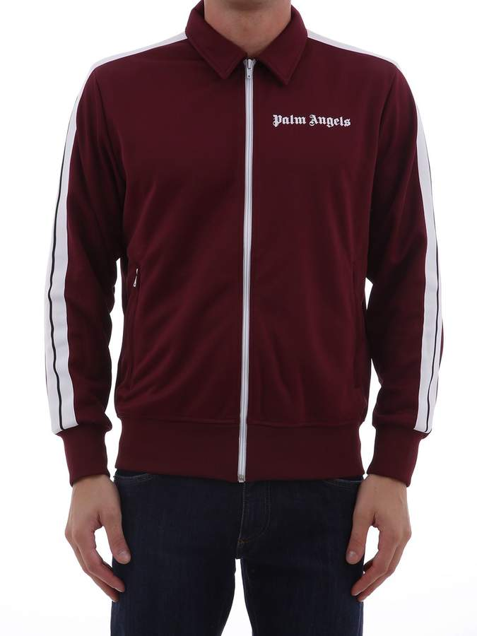 13bb6ac3 Palm Angels Track Jacket Bordeaux | Products | Jackets, Palm angels ...
