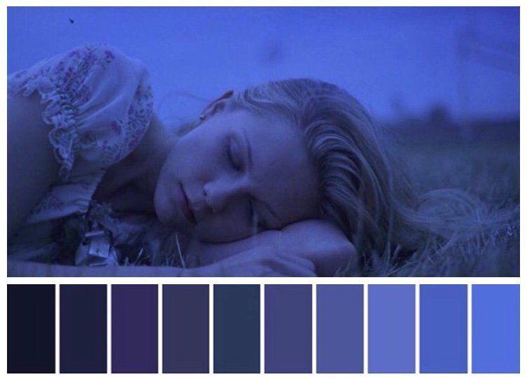 Pin En Paletas De Color En El Cine