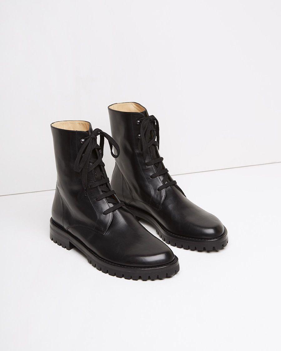 ANN DEMEULEMEESTER | Lace Up Ankle Boot | Shop at La
