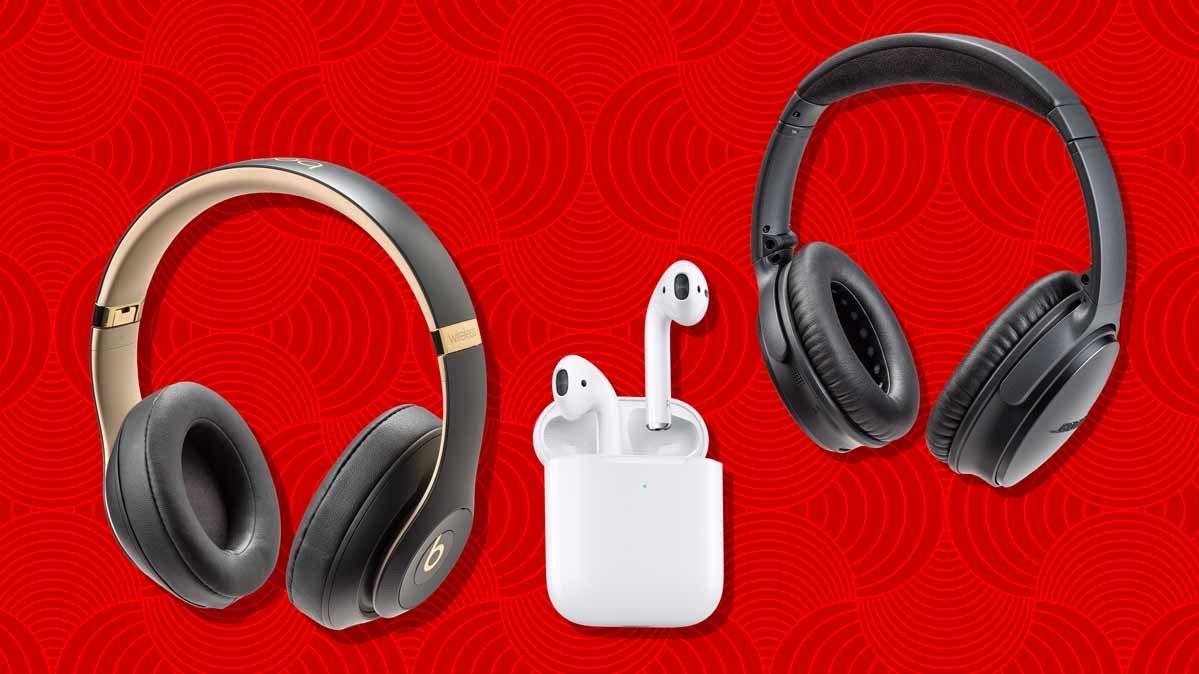 Bluetooth Wireless Headphones and AirPods Headphone