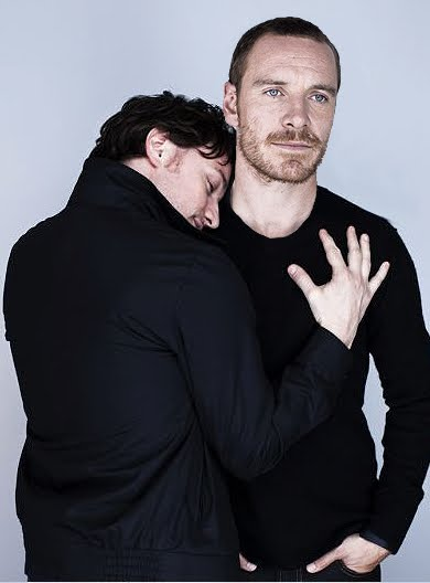 Michael Fassbender & James McAvoy...Can i be in the middle of that sammich? Please?