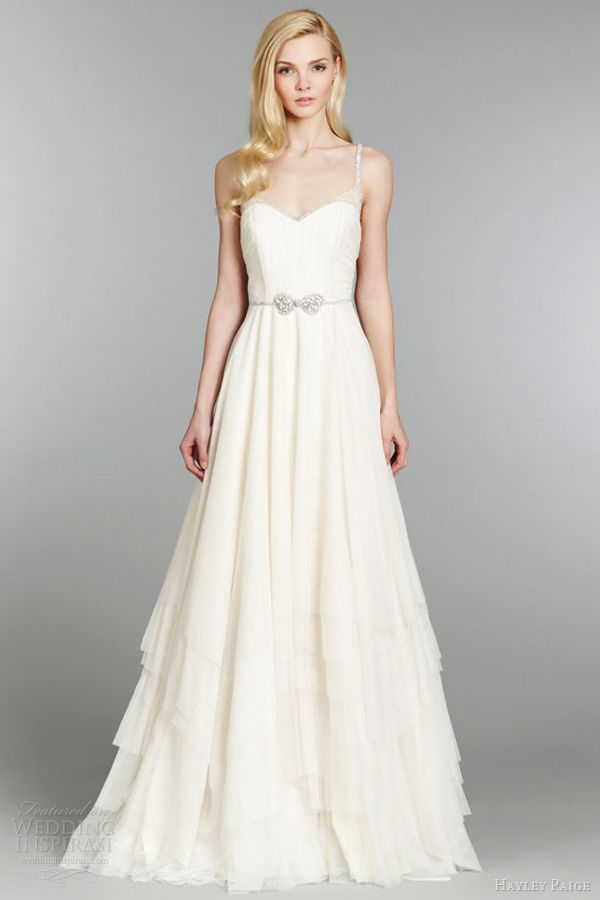 Lovely Hayley Paige Fall Wedding Dresses