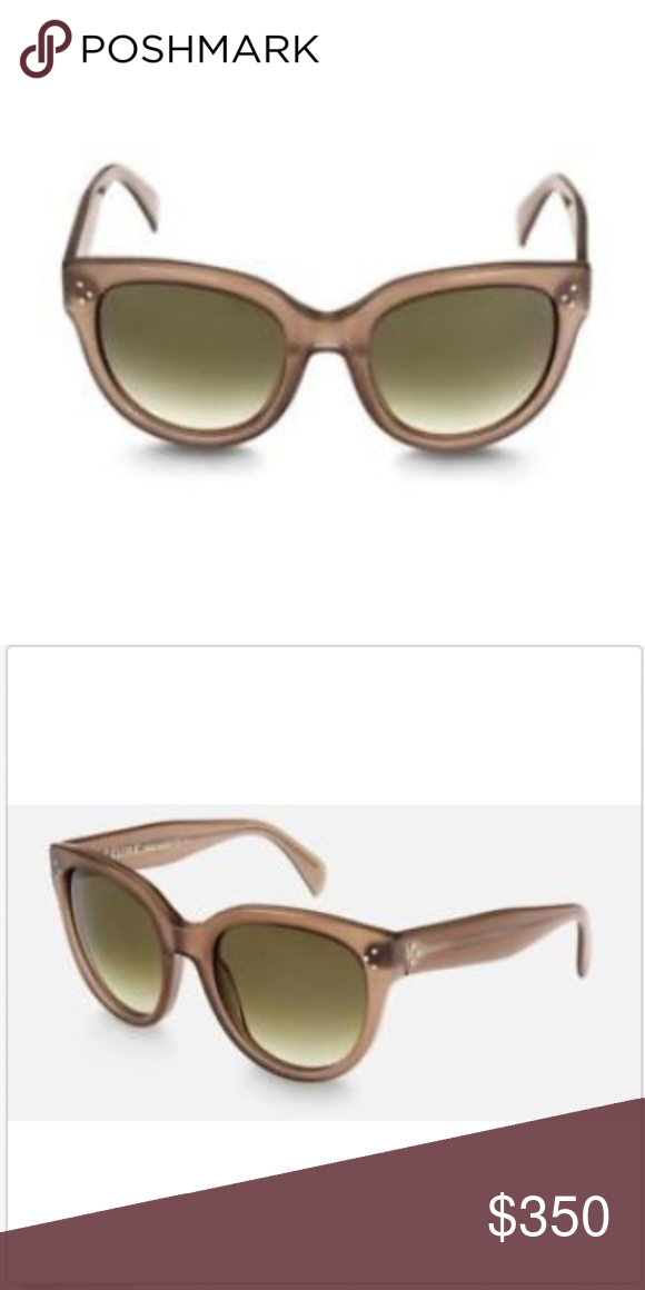 79f7138109ee Celine Paris Audrey Sunglasses Opal Brown Gray Brand new. Comes with  everything shown in photos. Lens height  52.9 Lens width  55 Lens bridge   22 Lens ...