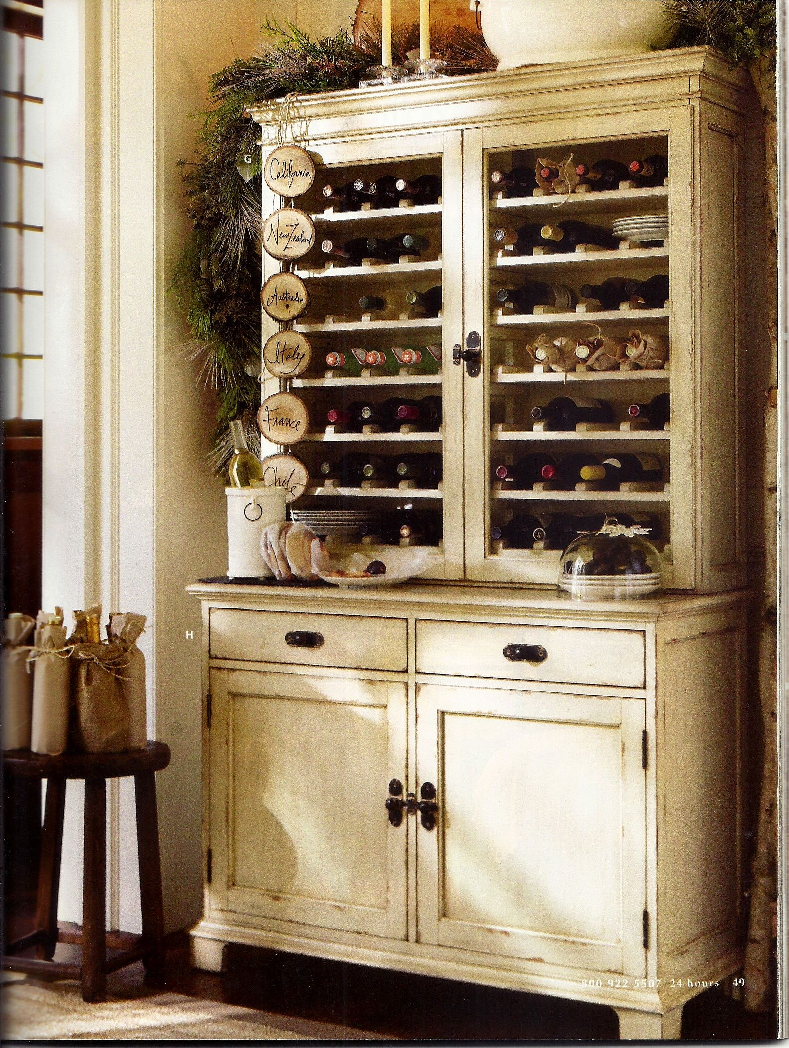 Wine Rack Built Into Wall Wine Storage Convert Normal Hutch Into Wine Cabinet
