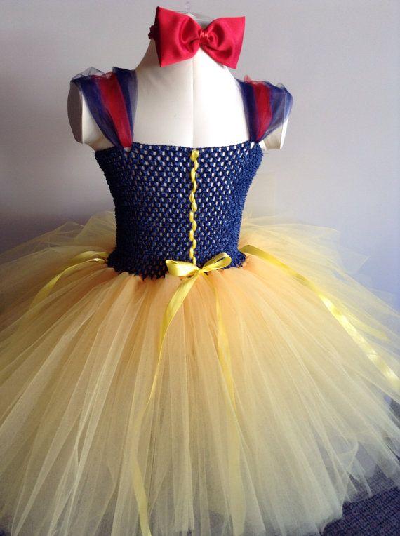 Dress up http://www.etsy.com/listing/176967980/snow-white-tutu-dress-costume-birthday