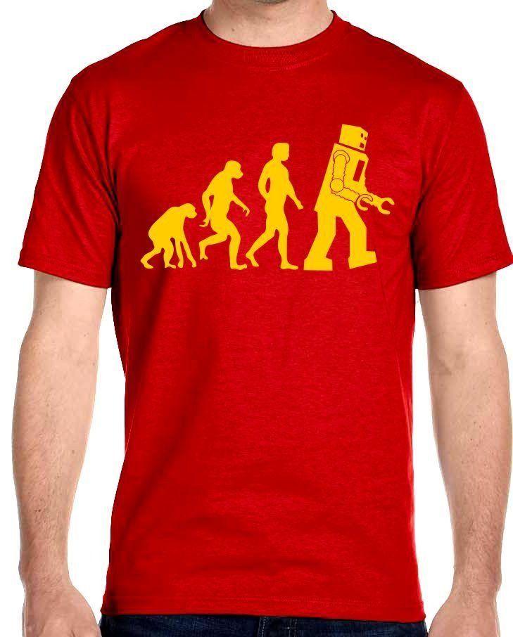Big Bang Theory Sheldon Cooper Robot Evolution T-Shirt Adult Sizes Youth