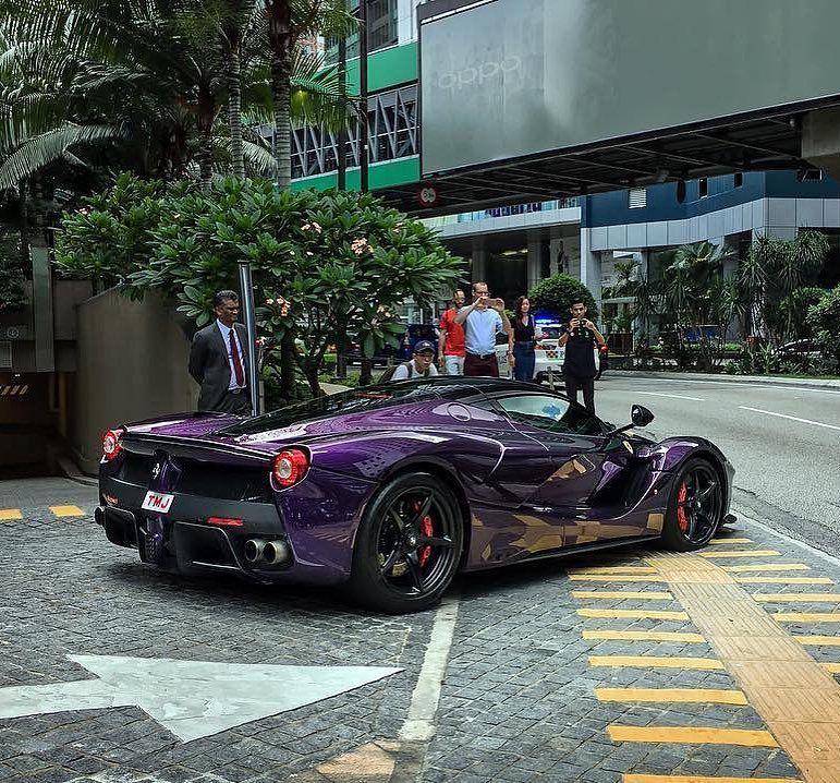 Purple Laferrari Photo By Choknorris Cars Blacklist