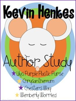 Photo of Kevin Henkes Author Study and Supplemental Activities