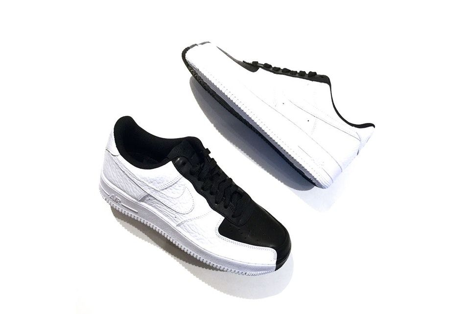 Nike's Air Force 1 Low Goes Black & White With