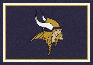 Minnesota Vikings Team Spirit Rug In