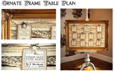 Ornate Frame Table Plan From Besty Ons Available To