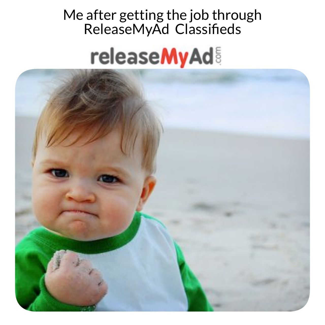Find Or Post Jobs Via Recruitments Releasemyad In 2020 Baby Fist Crossfit Humor Workout Memes