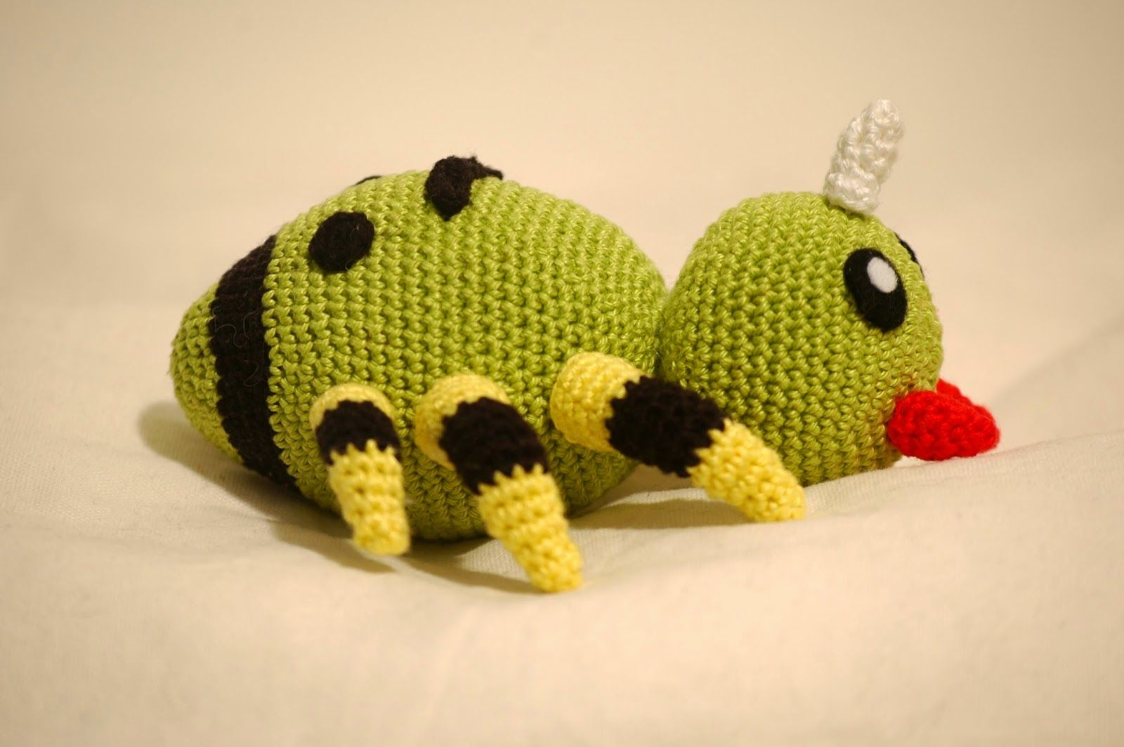 Crochet pattern Spinarak | Pokémon