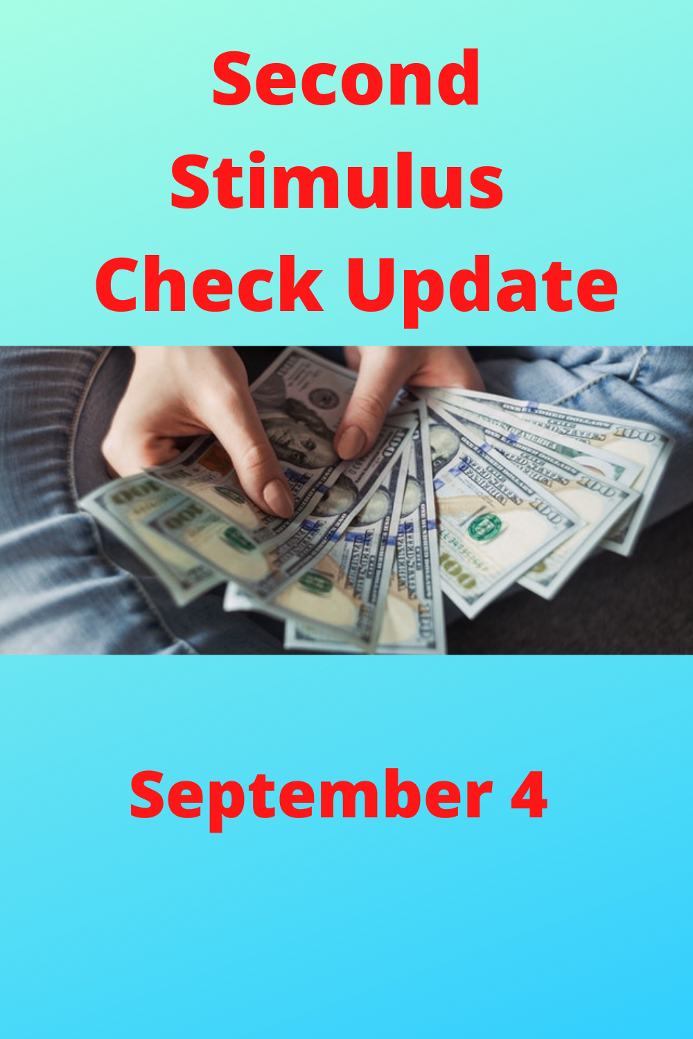 The update what's going on the Second Stimulus Check in