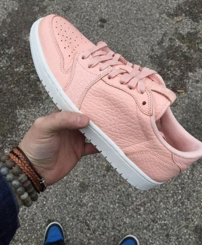 17d40cf4ed5 Air Jordan 1 Low Swooshless in Shy Pink | Hype Beast & Stuff to Buy ...