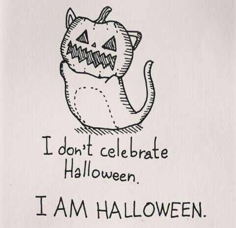 I Don't Celebrate Halloween I Am Halloween  Words  Pinterest